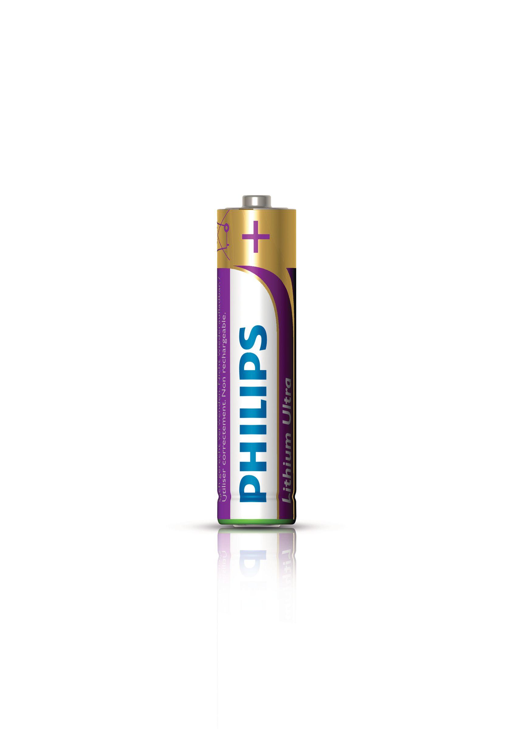 Philips Lithium Ultra Batteria FR03LB2A/10
