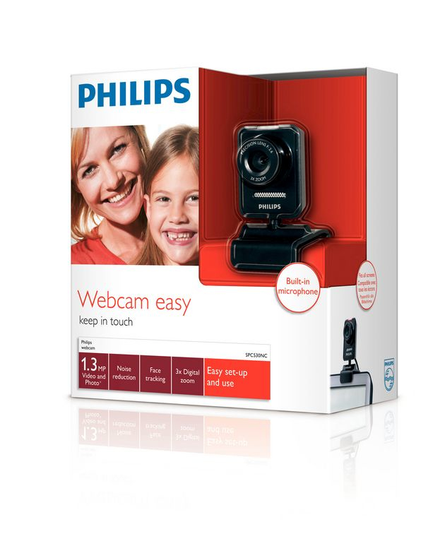 Philips Webcam per notebook SPC530NC/00
