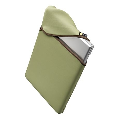 "Case Logic 15"" Reversible MacBook Pro Sleeve 15"" Custodia a tasca Verde"