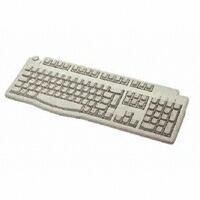 Fujitsu KYBOARD KBPC B FRA LB PS/2 AZERTY Francese Bianco tastiera