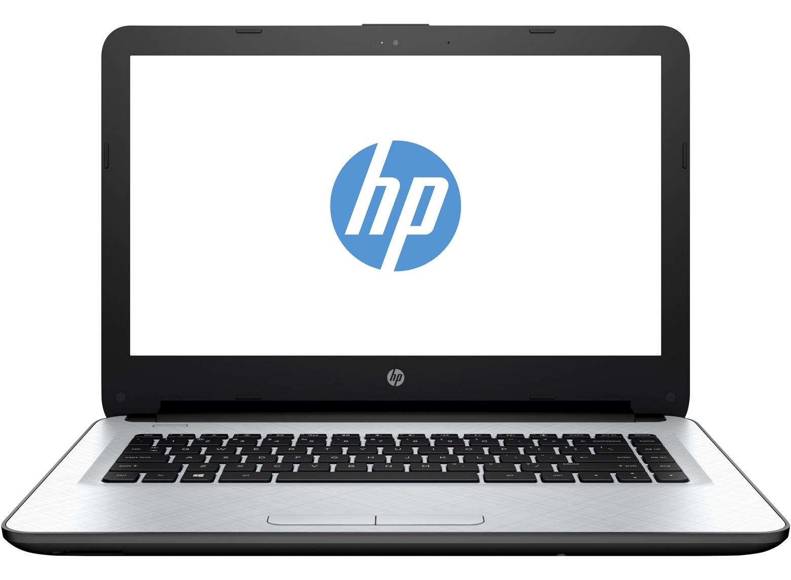 "HP 14-ac034tu 1.6GHz N3050 14"" 1366 x 768Pixel Bianco Computer portatile"