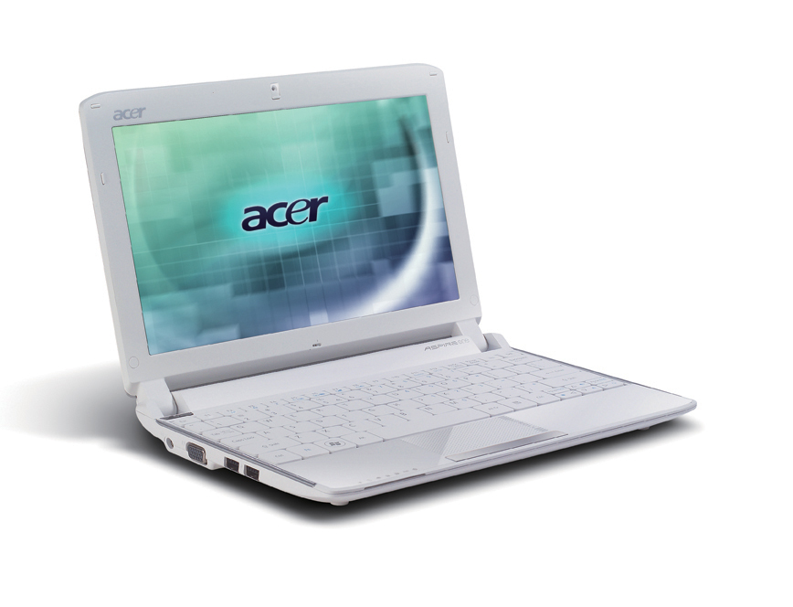 "Acer Aspire One 532h-2Ds 1.66GHz 10.1"" 1024 x 600Pixel Argento Netbook"