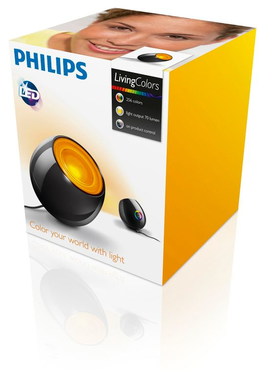 Philips LivingColors Mini nero lucido 6915030PH