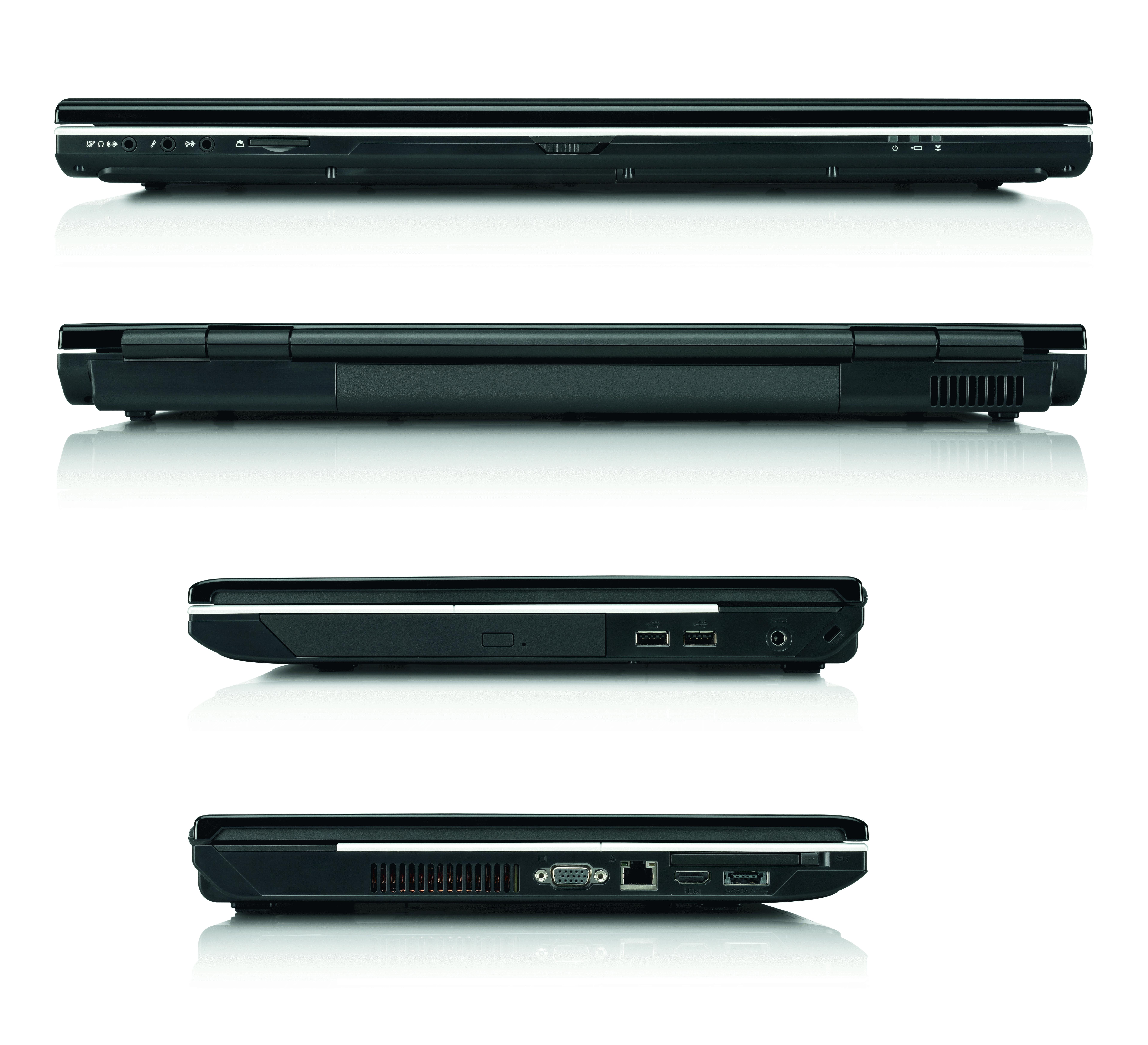 "Fujitsu AMILO Pi 3660 2.2GHz T6600 18.4"" 1680 x 945Pixel"