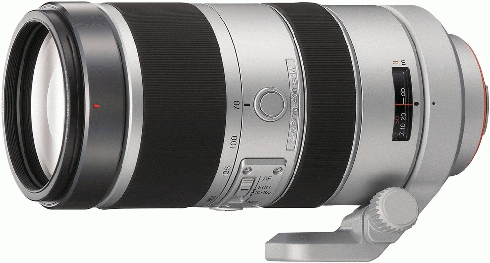 Sony 70400G Obiettivo della fotocamera digitale con innesto ad A
