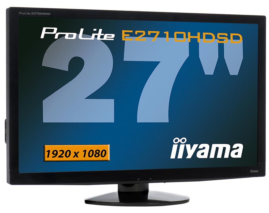 """iiyama ProLite E2710HDSD-B1 27"""" Full HD Nero monitor piatto per PC"""