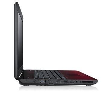 "Samsung R R580 JS02 2.13GHz i3-330M 15.6"" 1366 x 768Pixel Nero, Rosso"