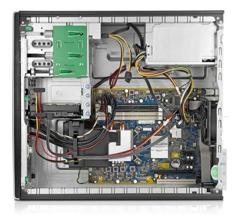 HP Compaq Pro 6000 MT 3GHz E8400 Microtorre Nero PC