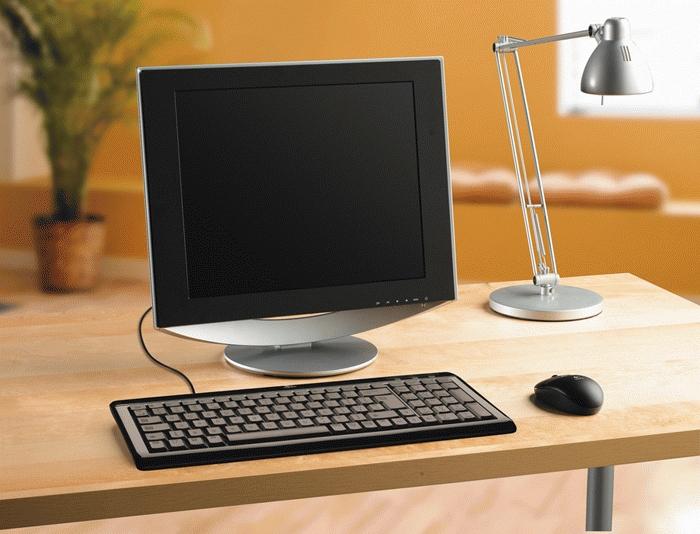 Logitech Ultra-Flat Keyboard, Danish USB+PS/2 Nero tastiera