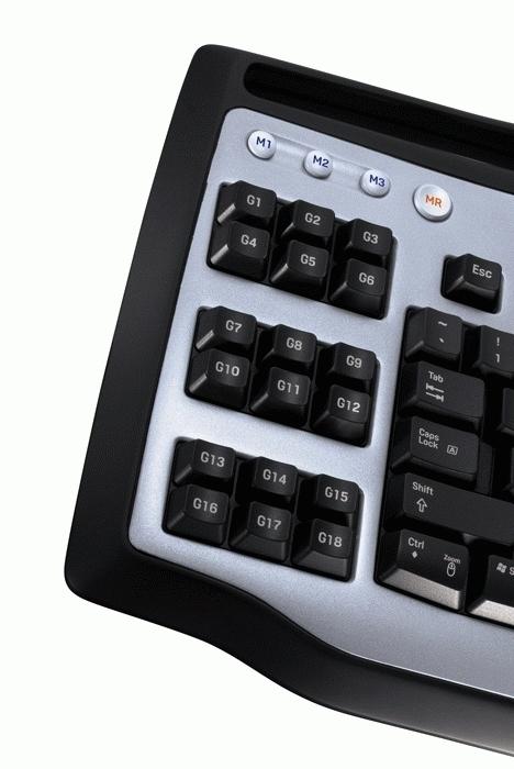 Logitech G15 Gaming Keyboard USB tastiera