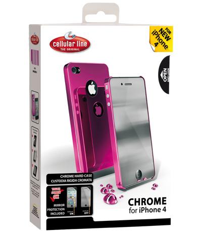 Cellularline CHRMIPHONE4P Rosa custodia per cellulare
