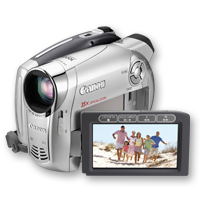 Canon DC220 DVD Digital camcorder 0.8MP CCD
