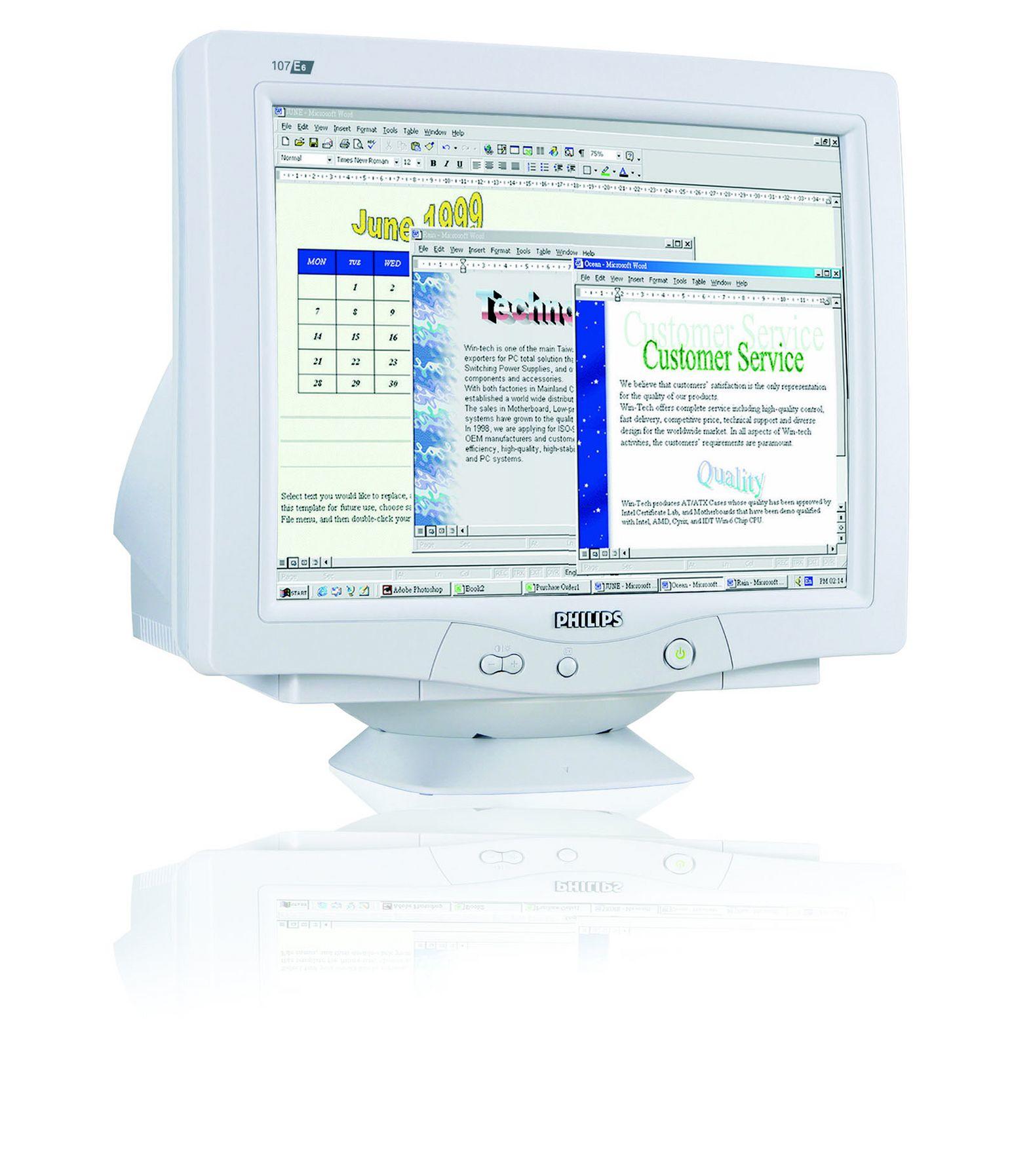 Philips 107E60/00 monitor CRT
