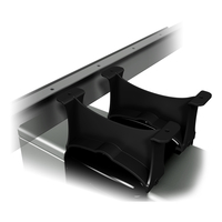 Dataflex Katame Montage Beugels Hoog 013 Desk-mounted CPU holder Nero
