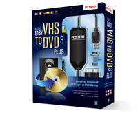 Corel Roxio Easy VHS to DVD 3 Plus USB 2.0 scheda di acquisizione video