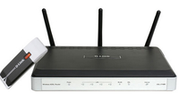 D-Link DKT-810 Fast Ethernet Nero router wireless