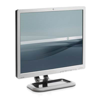 "HP L1910 19"" TFT Argento monitor piatto per PC"