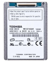 "Toshiba 120GB 4200 rpm 1.8 "" 120GB Paralello ATA disco rigido interno"