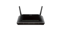 D-Link DSL-2750B Fast Ethernet router wireless