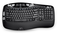 Logitech K350 RF Wireless QWERTZ Tedesco Nero tastiera