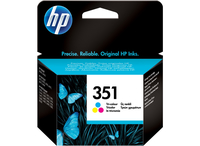 HP 351 Tri-color Original Ink Cartridge Medion Deal Ciano, Giallo cartuccia d