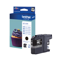 Brother LC-123BK Nero cartuccia d