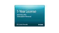 D-Link NetDefend DFL-260 Anti-Virus License 12-months