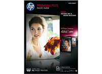 HP Premium Plus Semi-Gloss fotopapper 20 sheets/A4/210 x 297 mm A4 Semi lucida Bianco carta fotografica