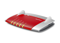 AVM FRITZ!Box 7360, DE Gigabit Ethernet Rosso router wireless