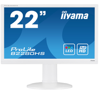 "iiyama ProLite B2280HS-W1 21.5"" Full HD TN Opaco Bianco monitor piatto per PC"