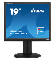 "iiyama ProLite B1980SD 19"" TN Opaco Nero monitor piatto per PC"