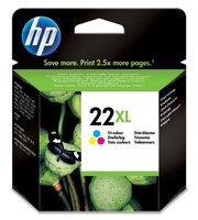 HP 22XL Tri-colour Ciano, Giallo cartuccia d