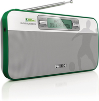 Philips AE9011/02 Portatile Digitale Verde, Grigio radio