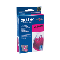 CARTUCCIA BROTHER LC980XL MAGENTA RIGENERATO