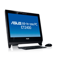 "ASUS ET 2400INT-B198E 3.2GHz i3-550 23.6"" 1920 x 1080Pixel Touch screen Nero PC All-in-one"