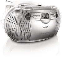 Philips AZ1027/61 Portable CD player Argento CD player