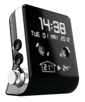 Thomson CT390 Orologio Digitale Nero radio