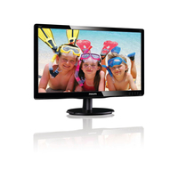 "Philips 196V4LSB2/62 18.5"" Nero monitor piatto per PC"