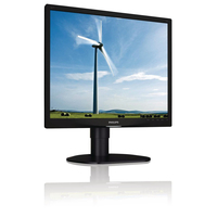 "Philips Brilliance 19S4LCB/01 19"" Nero monitor piatto per PC"