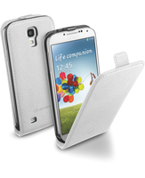 Cellularline Flap Essential - Galaxy S4 Value/ S4 Solida, robusta, si apre con una sola mano Bianco