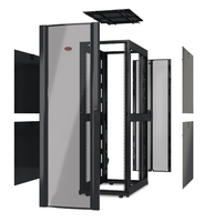 APC AR3350X617 rack cabinet 42U Freestanding rack Black