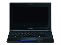 "Toshiba mini NB550D-112 1GHz C-60 10.1"" 1024 x 600Pixel Nero, Blu Netbook"