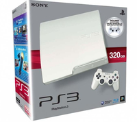 Sony 320GB PlayStation 3 Slim 320GB Wi-Fi Bianco