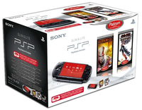"Sony PSP-3004 + God of War: Chains of Olympus + Tekken 4.3"" Wi-Fi Nero console da gioco portatile"