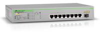 Allied Telesis AT-GS900/8PS No gestito Gigabit Ethernet (10/100/1000) Supporto Power over Ethernet (PoE) 19U Grigio