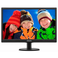 "Philips 193V5LSB2 18.5"" Wide Quad HD TFT Opaco Nero monitor piatto per PC"