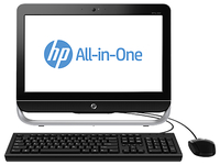 "HP Pro 3520 2.6GHz G1610 20"" 1600 x 900Pixel Nero, Argento PC All-in-one"