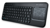 Logitech K400 RF Wireless QWERTZ Tedesco tastiera