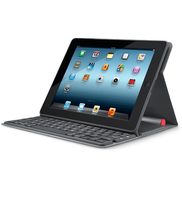 Logitech Solar Keyboard Folio Bluetooth Grigio tastiera per dispositivo mobile