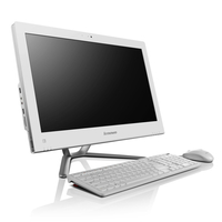 "Lenovo Essential C445 1.7GHz E2-1800 21.5"" 1600 x 900Pixel Bianco PC All-in-one"